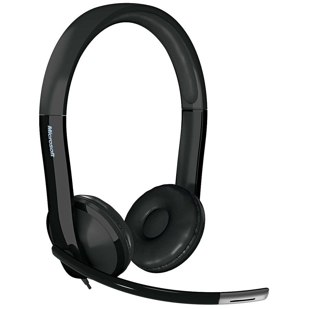 Microsoft Fone Com Microfone Lx-6000 Usb Caixa Parda - 7XF00001