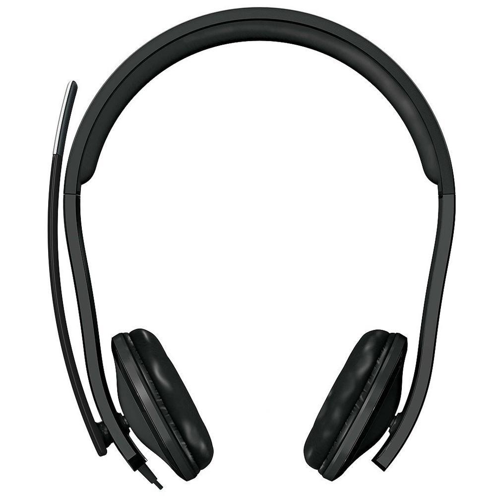 Microsoft Fone Com Microfone Lx-6000 Usb Caixa Parda - 7XF00001  - Districomp Distribuidora
