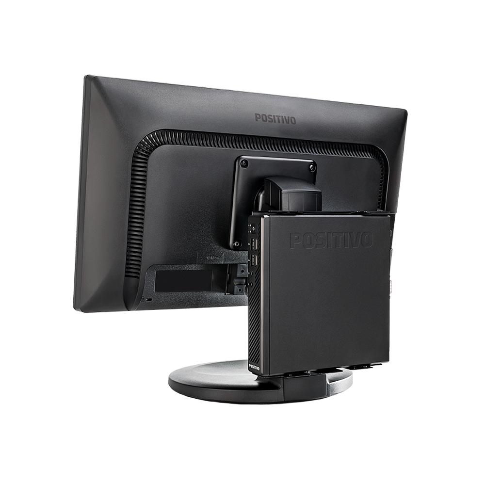 Mini Pc Positivo Master C610 I3 7100T 3.40Ghz 4GbDdr4 Hd500Gb Vga Hdmi Serial Rede Giga M/t Sh Efi  - Districomp Distribuidora
