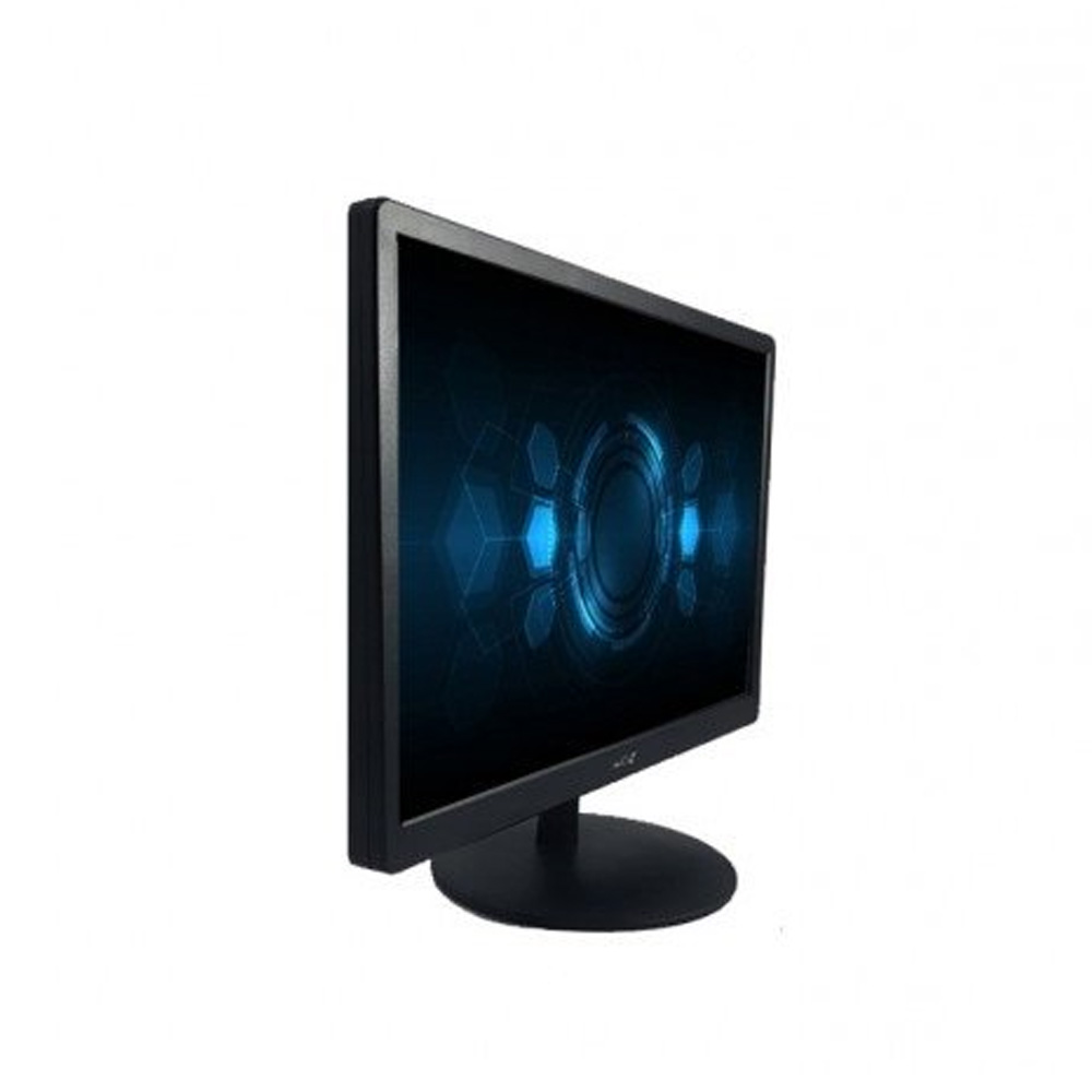 "Monitor Led 19"" Duex Widescreen Vesa Hd 1440x900 60Hz Vga-Hdmi DX M19HC Preto  - Districomp Distribuidora"