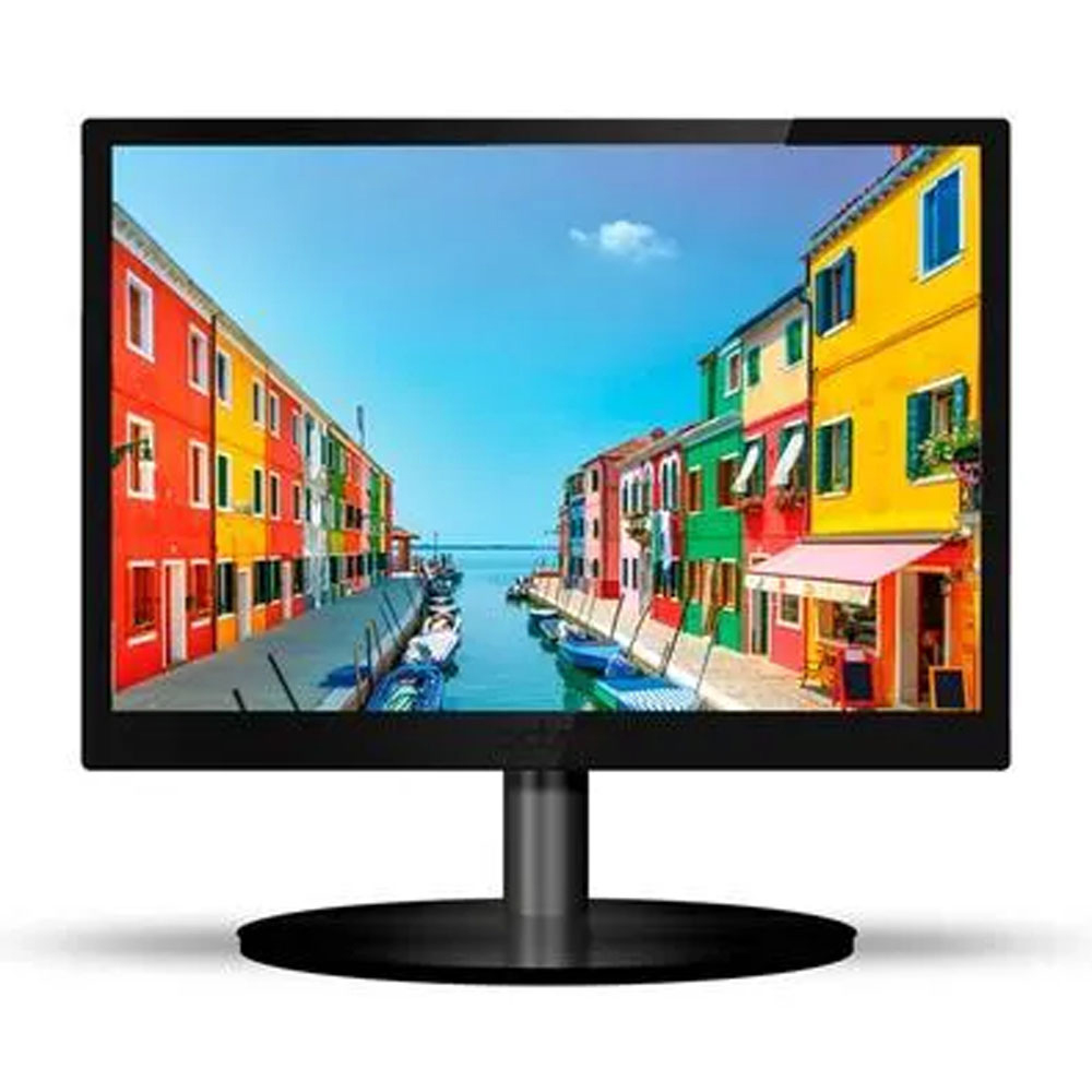Monitor PCTop LED 17 60Hz 5ms HDMI VGA Preto - MLP170HDMI