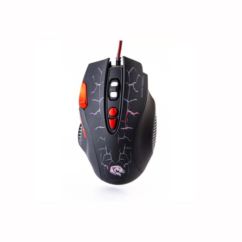 Mouse Gamer Hayom Usb C/Leds 3200 Dpi 8 Botoes Cabo 1.5 Metros MU2907