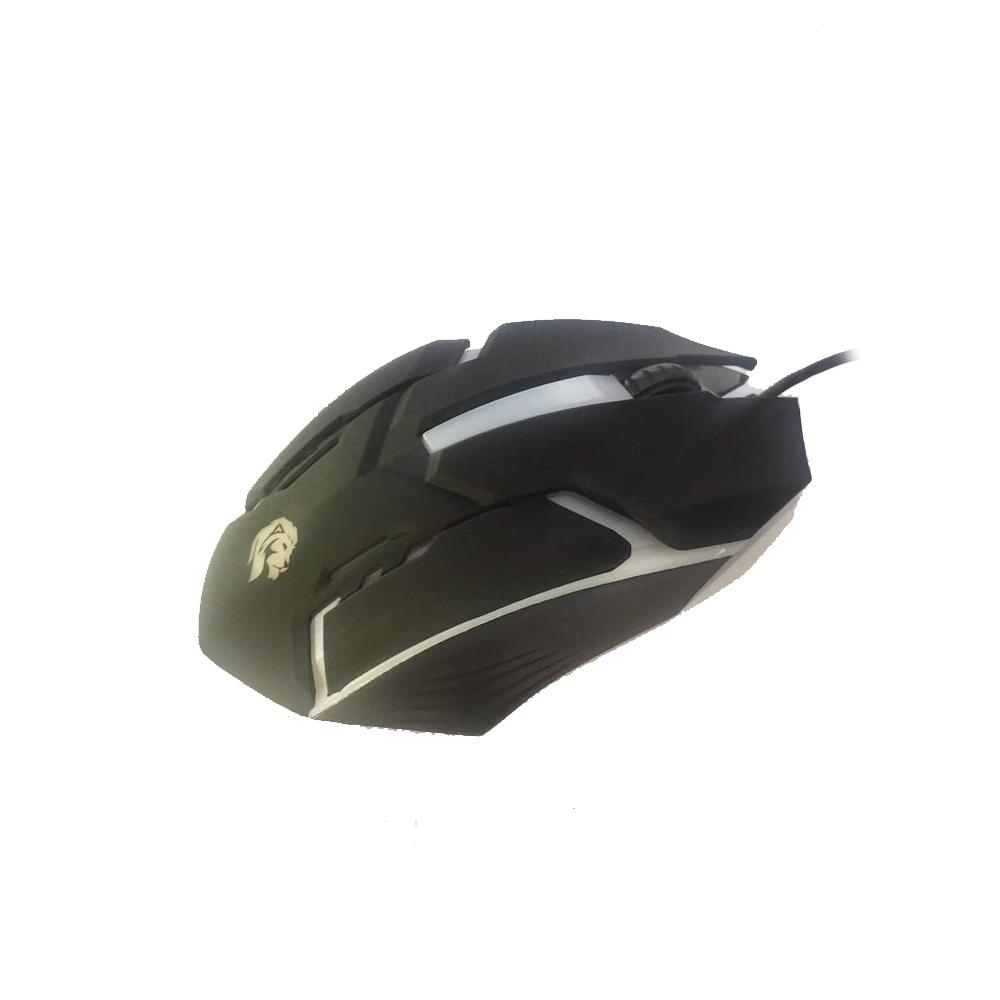 Mouse Gamer Usb c/ Leds 1000 DPI 3 Botoes Cabo 1.5 Metros MU2908 - Hayom  - Districomp Distribuidora