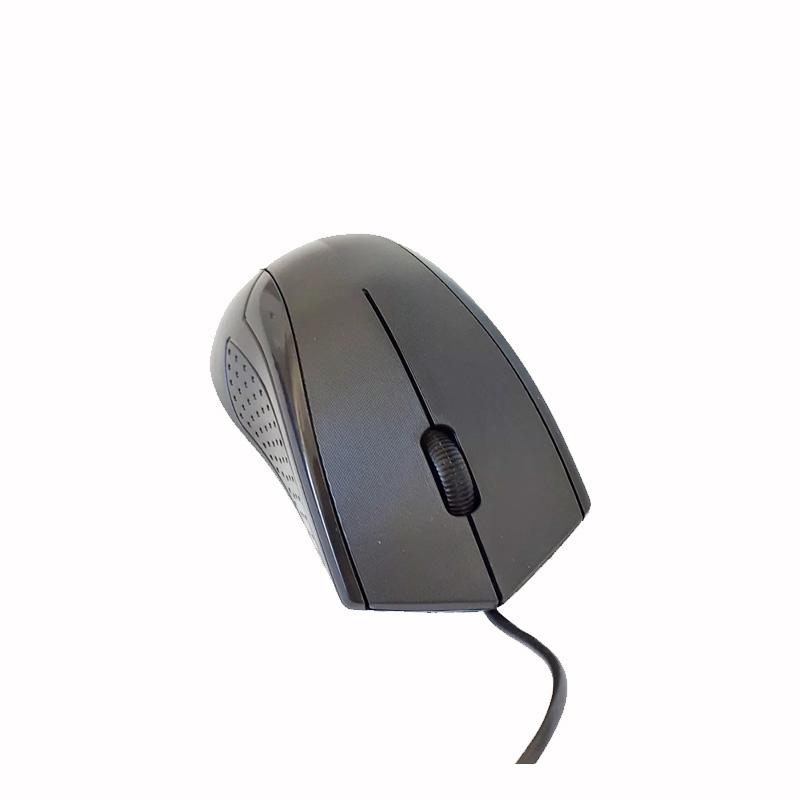 MOUSE OFFICE PRETO USB 1200 DPI 3 BOTOES CABO 1.2 METROS MU2900 - HAYOM  - Districomp Distribuidora