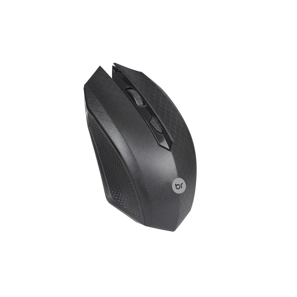 Mouse Sem Fio Austria Prata Bright - 0053  - Districomp Distribuidora