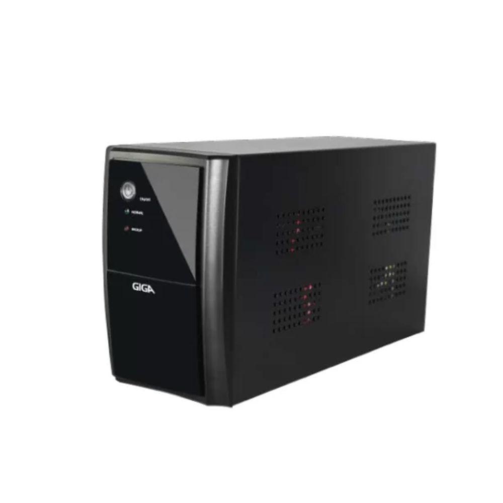 Nobreak Giga Security 1440Va Biv Ent-115V/220V Sai-115v Ups 8 Tomadas 2 Bat Selada P/Cftv - GS0175