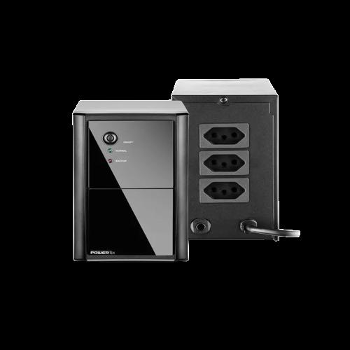 Nobreak Powertek Multilaser EN038  - Districomp Distribuidora