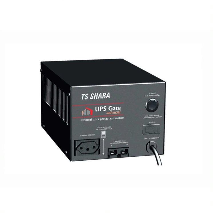 Nobreak TS-SHARA 1200VA p/ portao ele e seg ups gate universal biv ent/sai-115v/220v s/bat (4398)  - Districomp Distribuidora