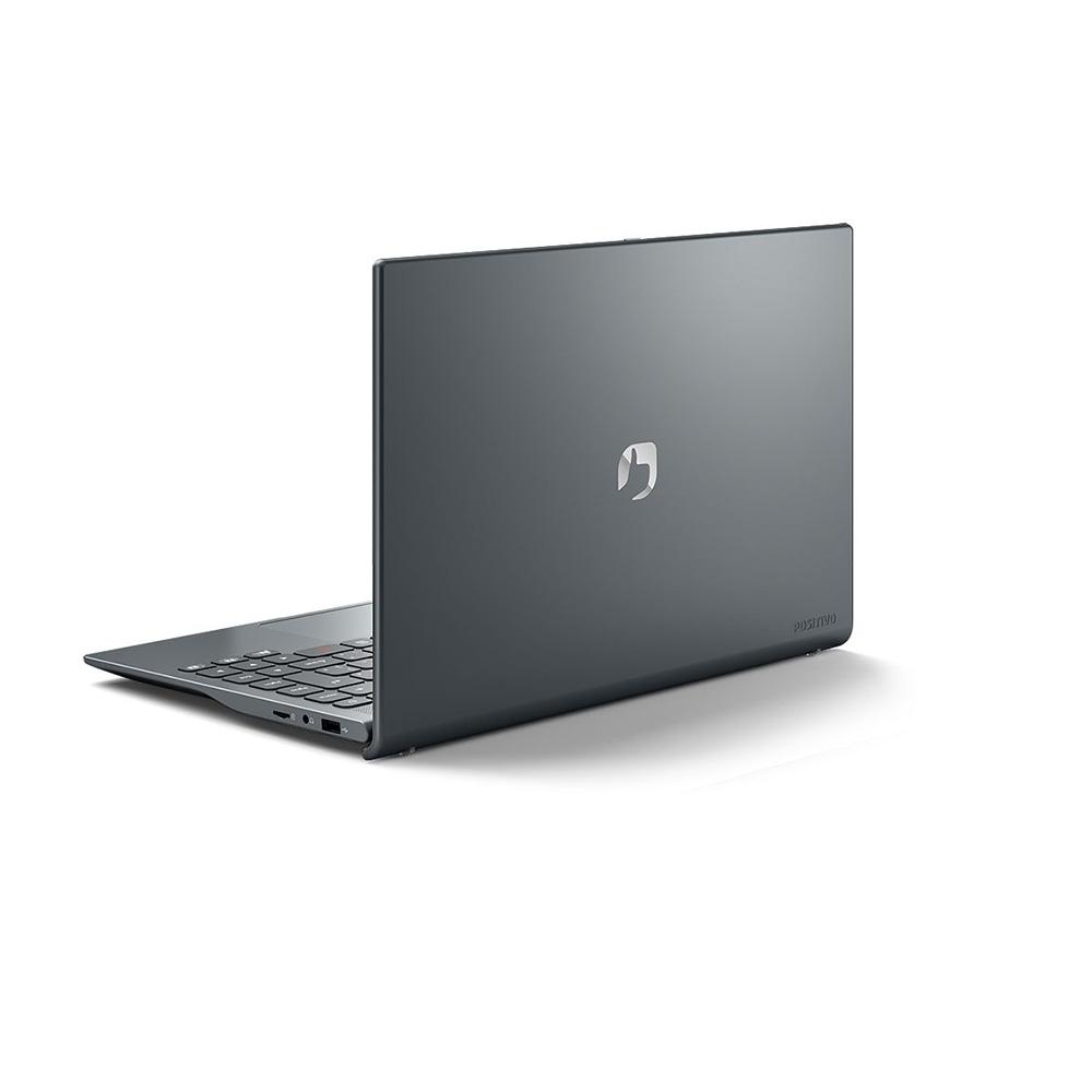 Notebook 14 Ultraslim Positivo Mgray Dual Core N3350 4GBDDR4 SSD128GB hdmi usb 3.0 linux  - Districomp Distribuidora