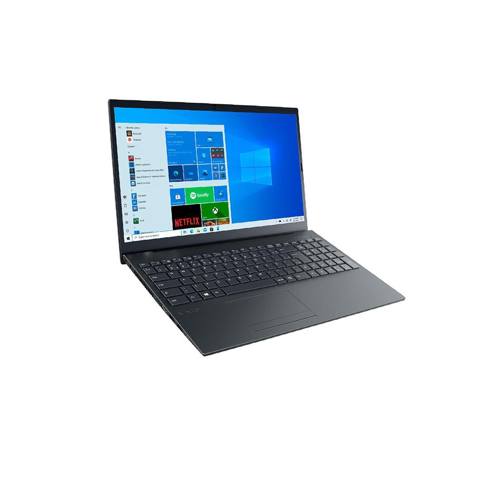 Notebook 15,6 fhd Vaio F15 I5 10210U 8GBDDR4 SSD256GB hdmi usb3.0 Tecl num res agua Linux  - Districomp Distribuidora