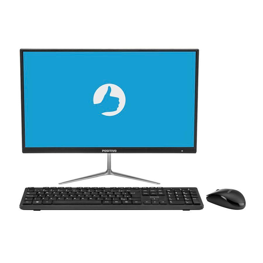 PC All In One 21,5 FHD Positivo Master A2200 Core 13 8130U 4GBDDR4 HD500GB HDMI USB3.0 M/TC SH EFI