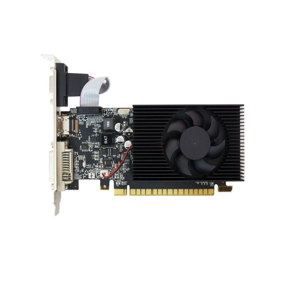 Placa de Video Duex Geforce Gt 730 2Gb Ddr3 128 Bits - Hdmi - Dvi - Vga - GT730LP-C Box  - Districomp Distribuidora