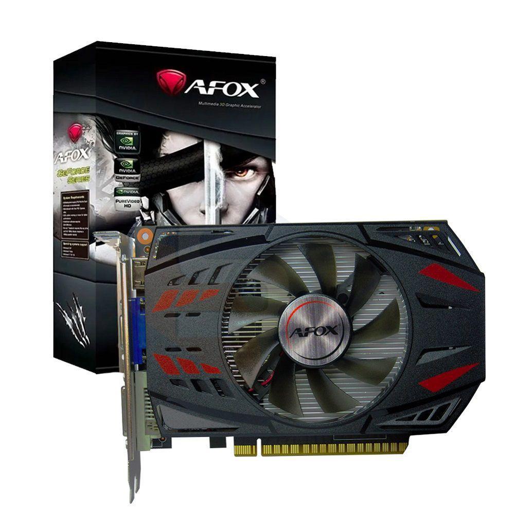 Placa de Video Duex Geforce GT 750TI 2Gb Ddr5 128 Bits - Hdmi - Dvi - Vga - GTX750TI-2Gb5 Box