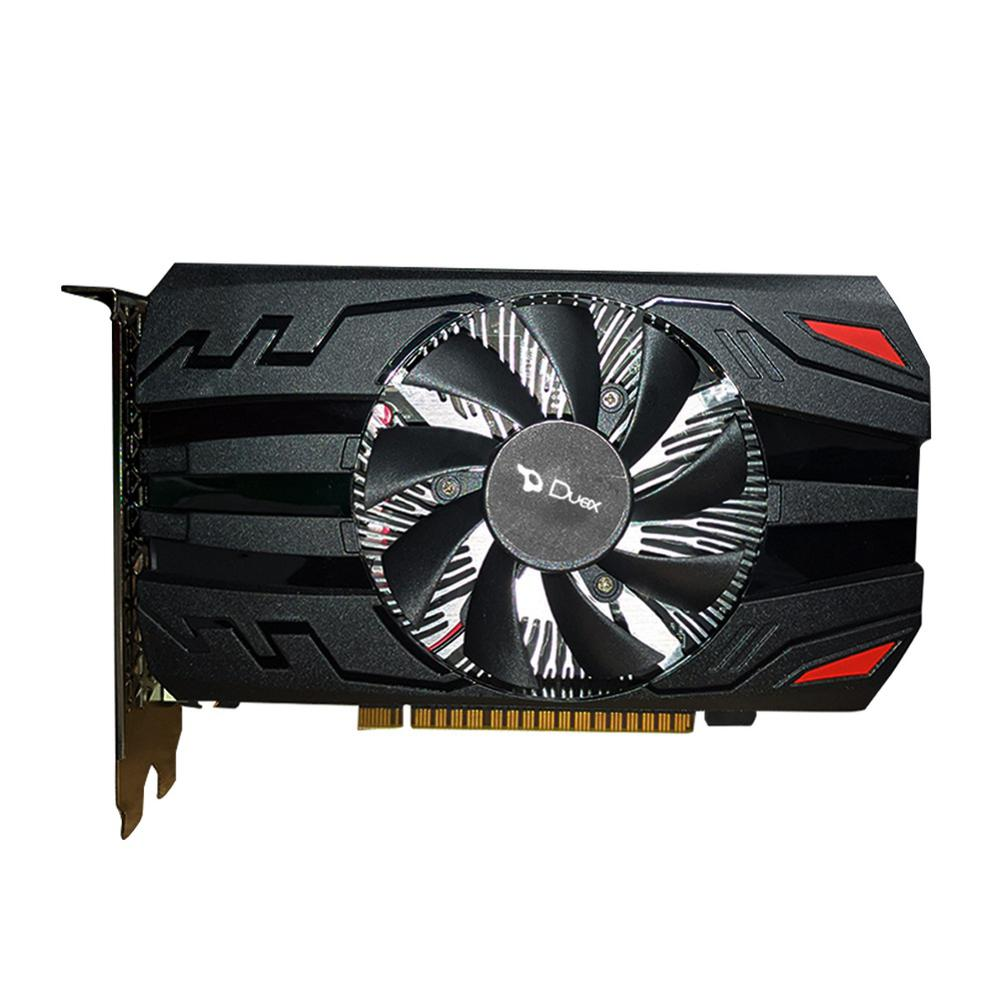 Placa de Video Duex Geforce GTX 1050TI 4Gb Ddr5 128 Bits - Hdmi - Dvi - Vga - GTX1050TI-4GD5 Box  - Districomp Distribuidora