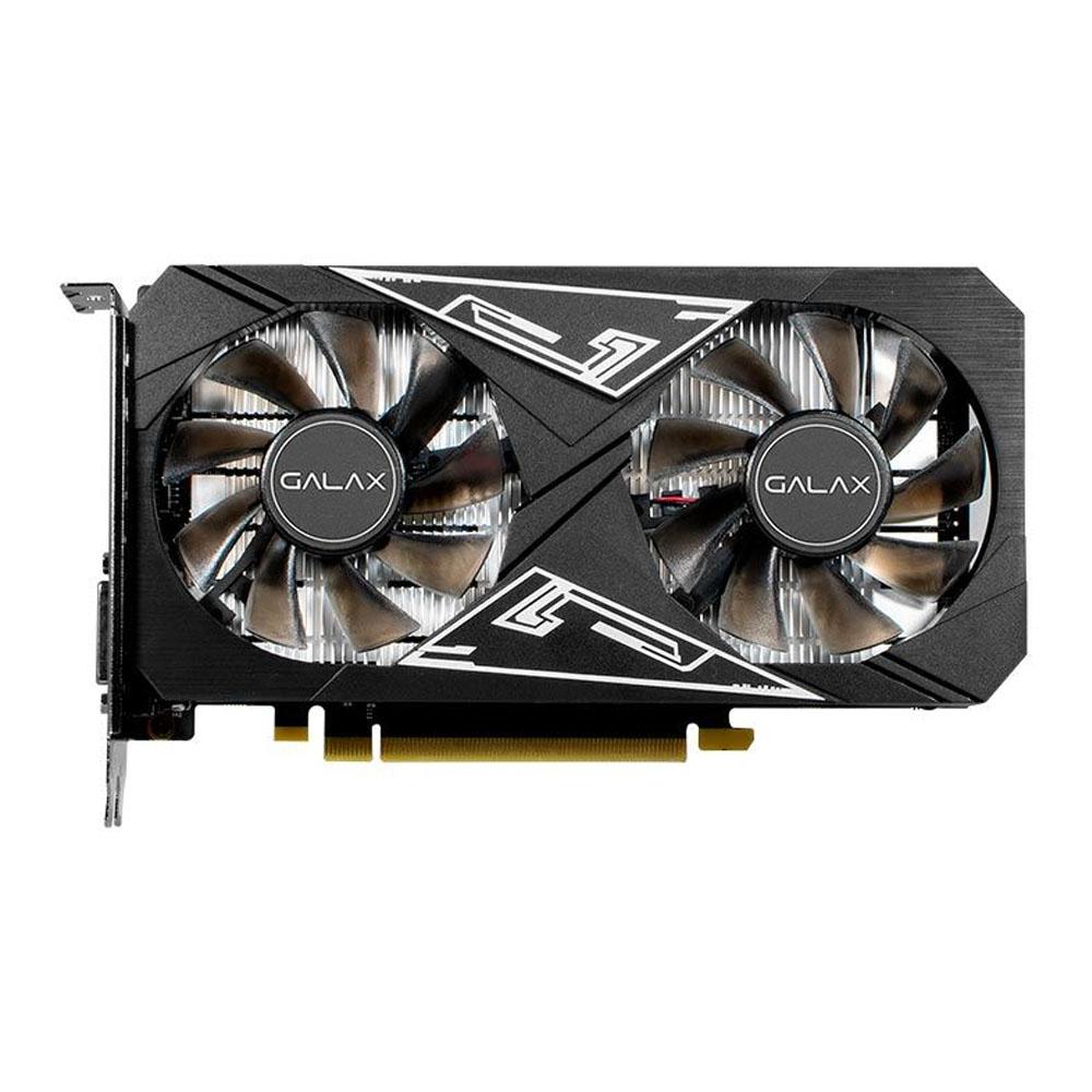 Placa de Video Galax Nvidia Geforce GTX 1650 ex Plus 1 Click oc 4Gb Ddr6 128 Bits - Hdmi - Dvi - DP -Box  - Districomp Distribuidora