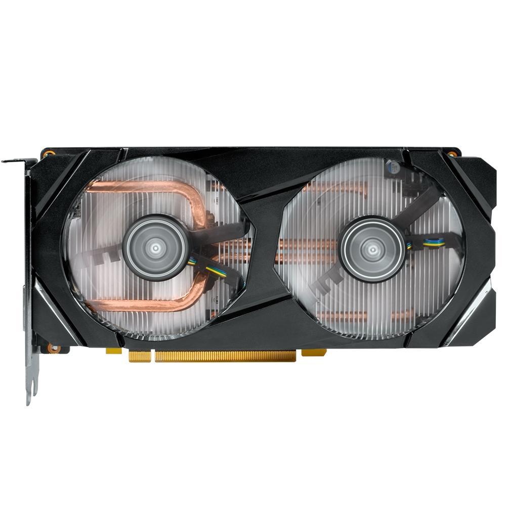 Placa de video Galax Nvidia - Geforce - GTX 1660 - PCI-E 6GB DDR5 192BITS -HDMI - DVI - DP  - Districomp Distribuidora