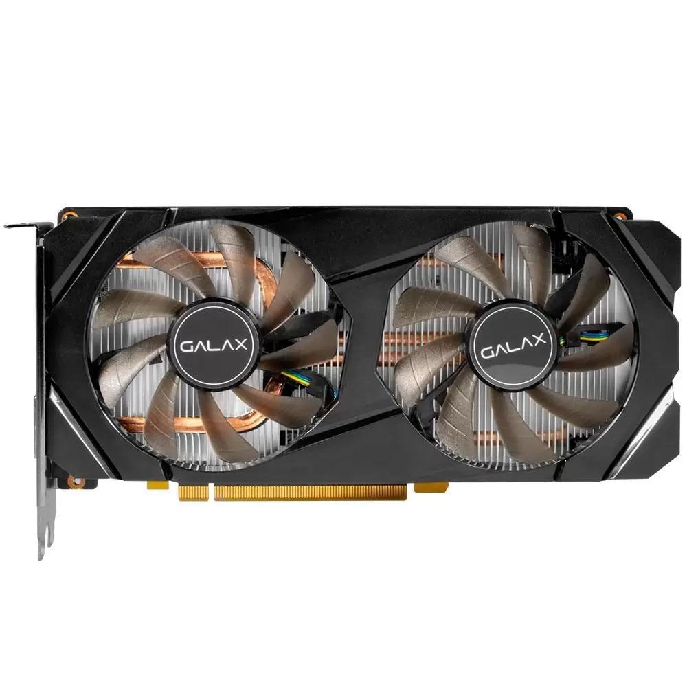 Placa de Video Galax Nvidia Geforce RTX 2060 1 Click oc 6Gb Ddr6 192 Bits  - hdmi - Dvi - DP - Box  - Districomp Distribuidora