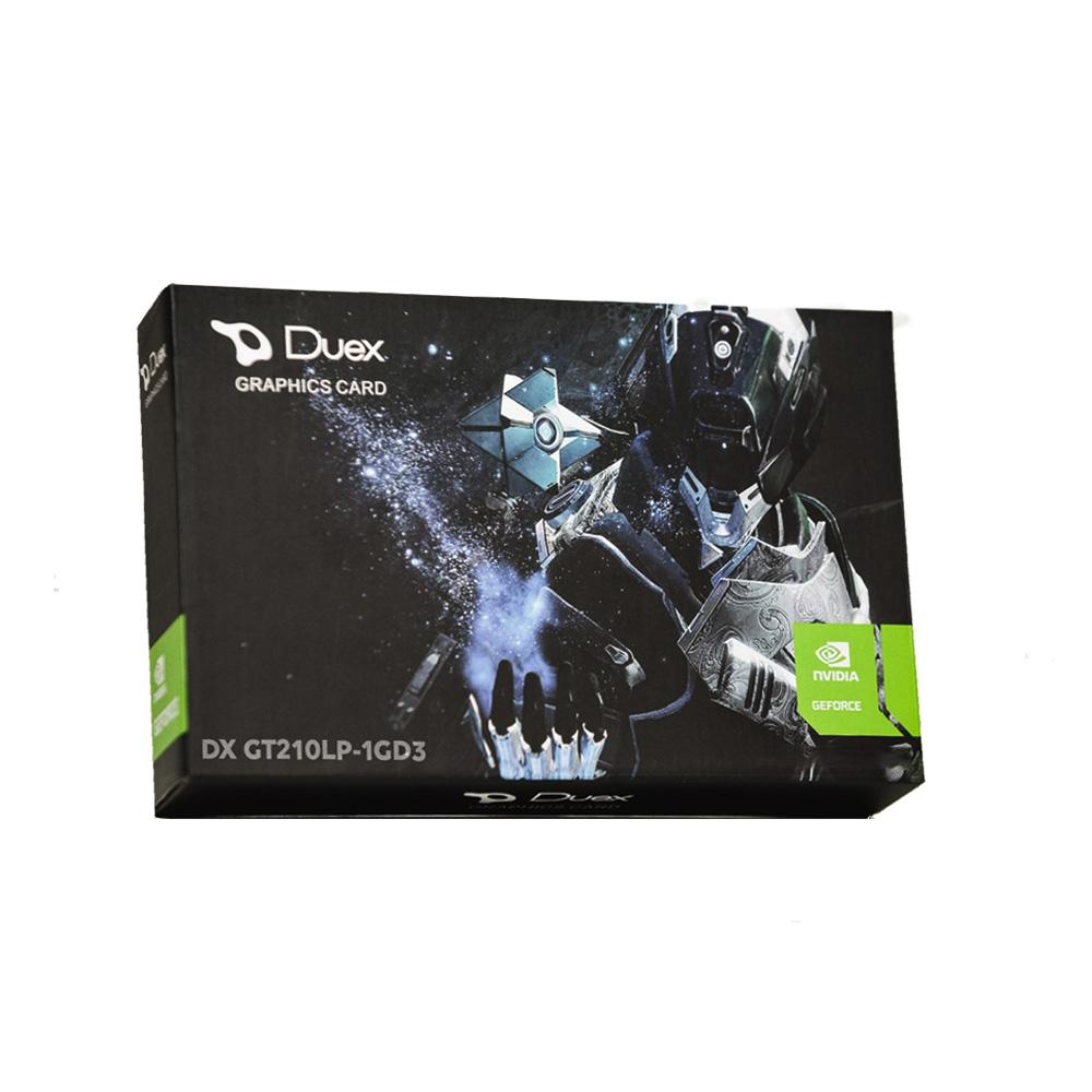 Placa de Video Geforce Gt 210 1gb ddr3 64 Bits -hdmi - dvi - vga -  Duex g210lo-1gd3 Box  - Districomp Distribuidora