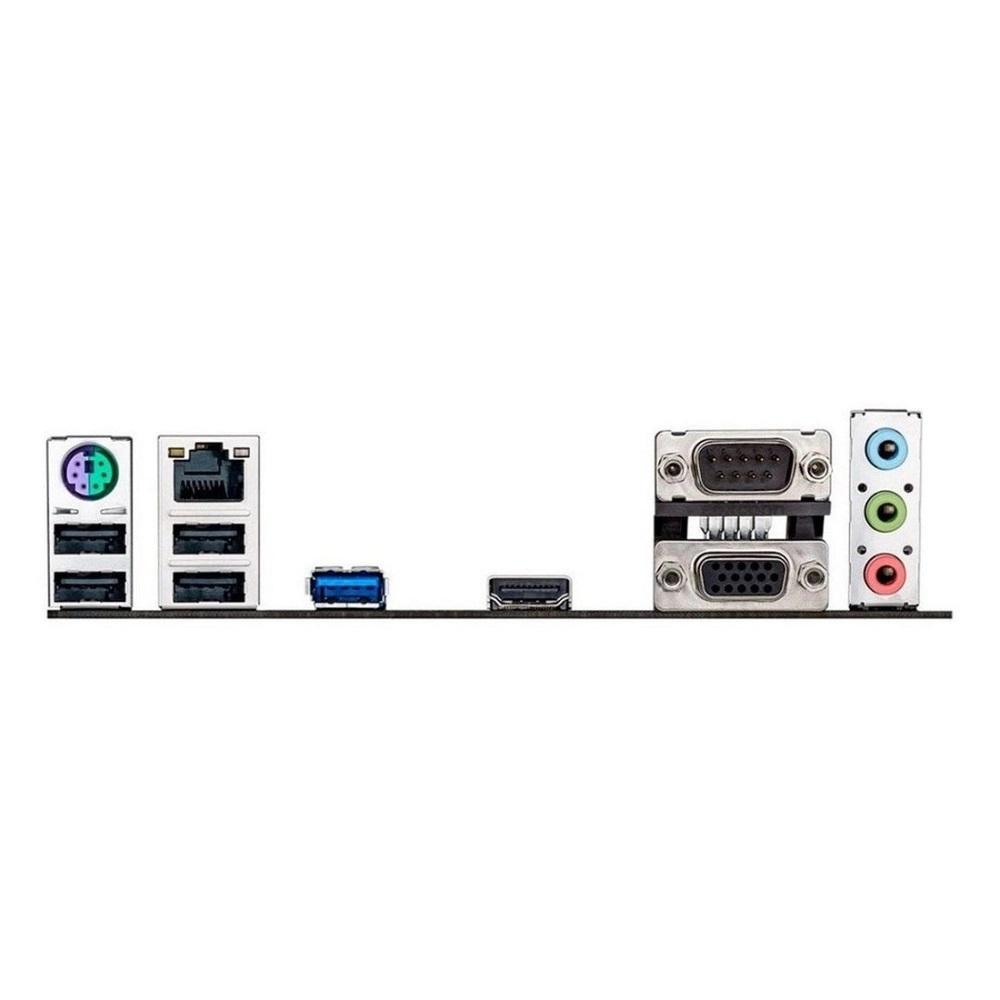 Placa Mãe Asus C/Proc Intel J1800 Dc 2.58Ghz 2xDdr3L Vga Hdmi Serial Usb 3.0 J1800I-C/Br Oem  - Districomp Distribuidora