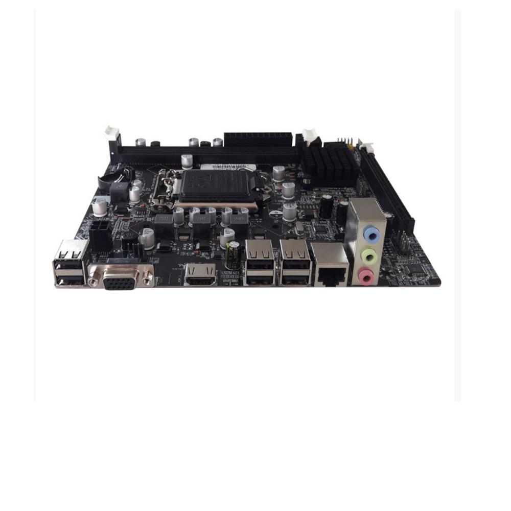 PLACA MAE DESK BRAZILPC 1155 BPC-H61C-V1.4 (2xDDR3/1xVGA/1xHDMI/6xUSB2.0/REDE/AUDIO) OEM I  - Districomp Distribuidora