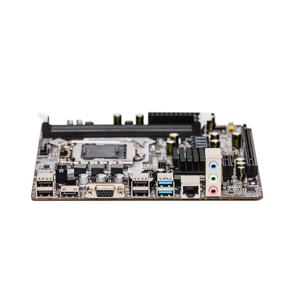 Placa Mae Duex Lga 1150 DX-H81Z (2xDdr3/2xUsb3.0/4xUsb2.0/1xAudio) Rede10/100 Pcie16x Vga Hdmi 4ªGer  - Districomp Distribuidora