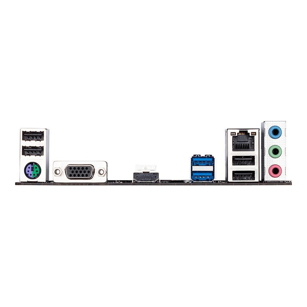 Placa Mae Gigabyte 1200 H410M-H(2xDdr4/1xM2Sata/2xUsb3.0/1xRede10/100/1000/1xPcie16x/Vga/Hdmi) Box  - Districomp Distribuidora
