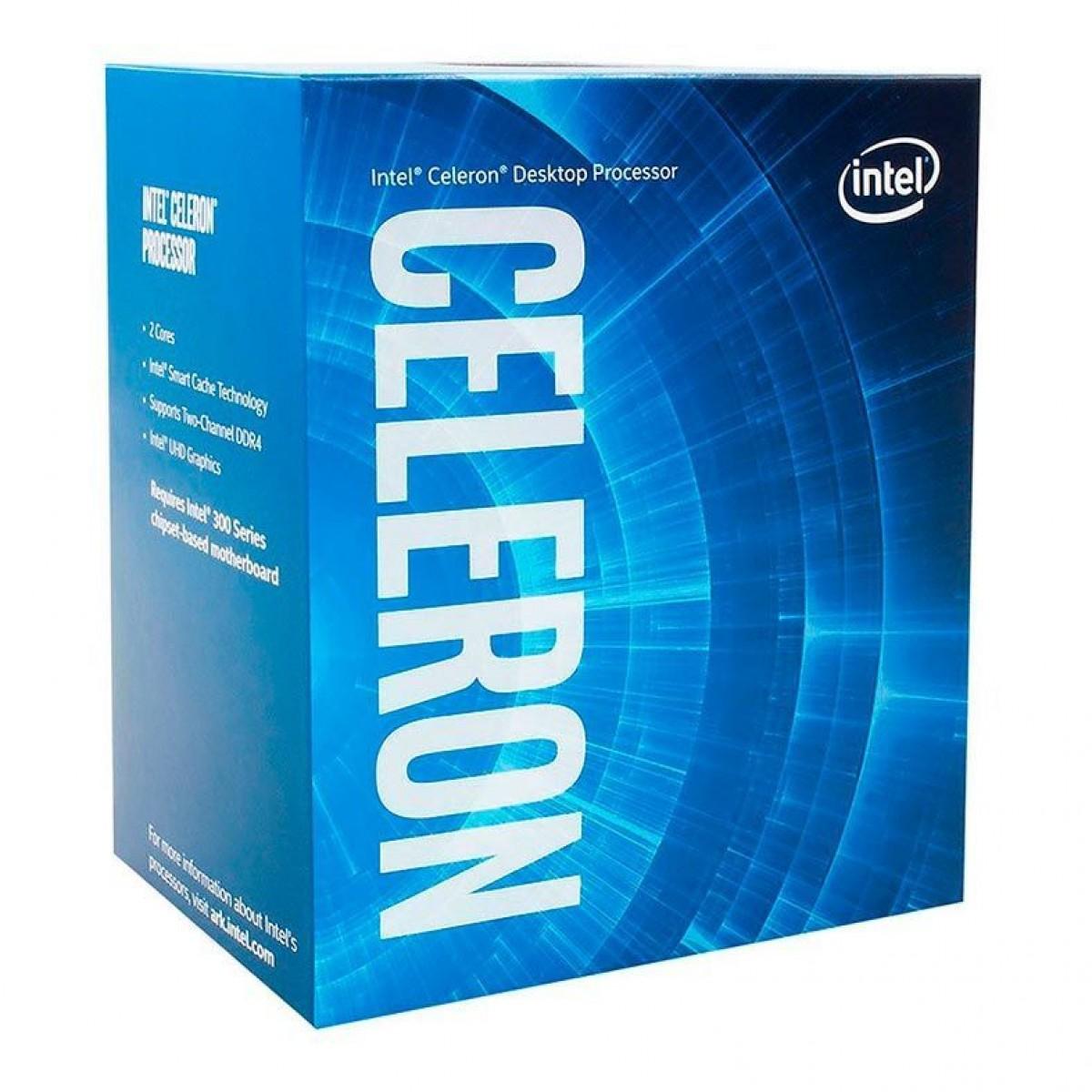 Processador Celeron Lga 1200 G5905 3,5ghz 4mb Cache Com Video 10 Geracao - Bx80701g5905 - Intel  - Districomp Distribuidora