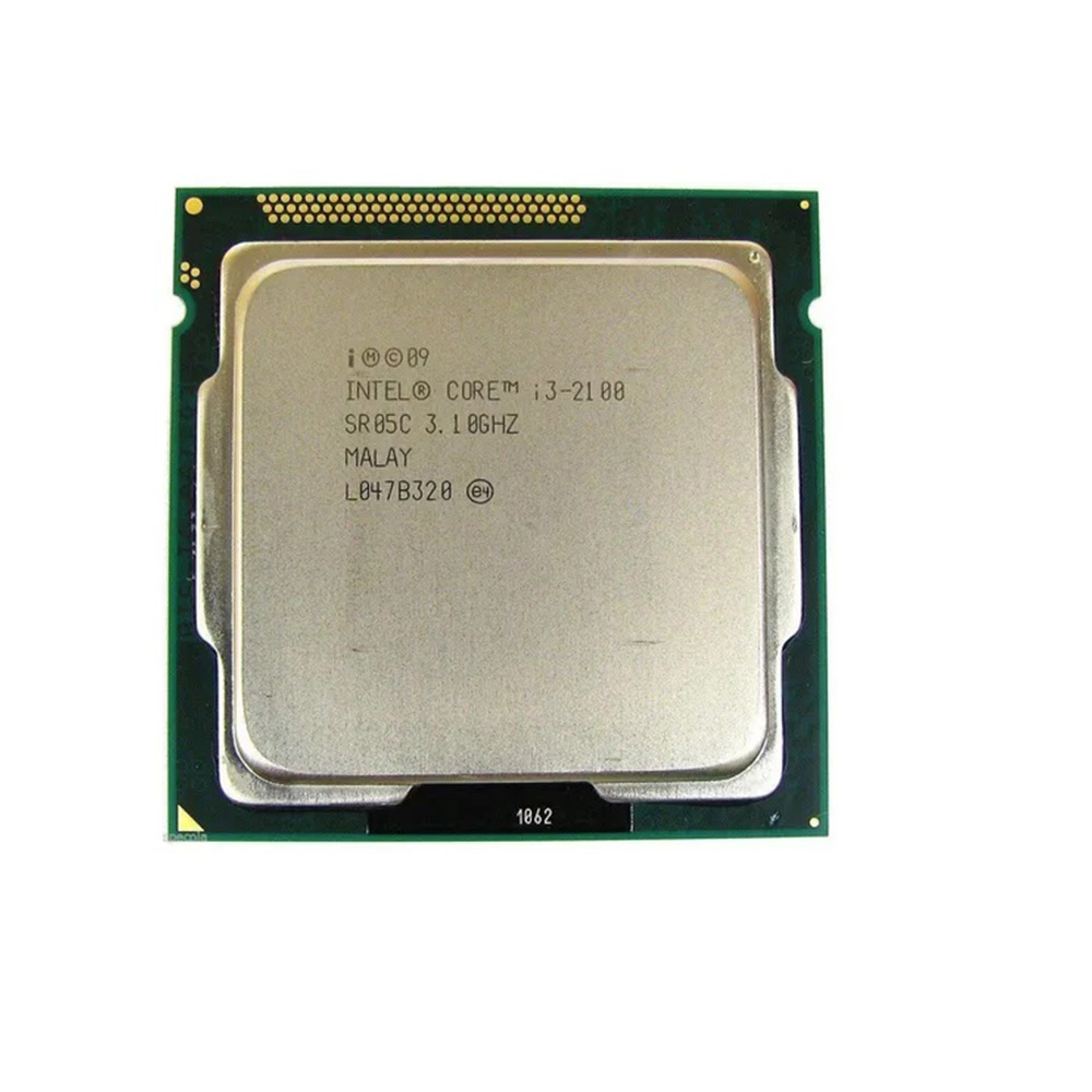 PROCESSADOR INTEL CORE I3 2100 3.10Ghz 3MB LGA 1155 2ª GER SEM COOLER OEM