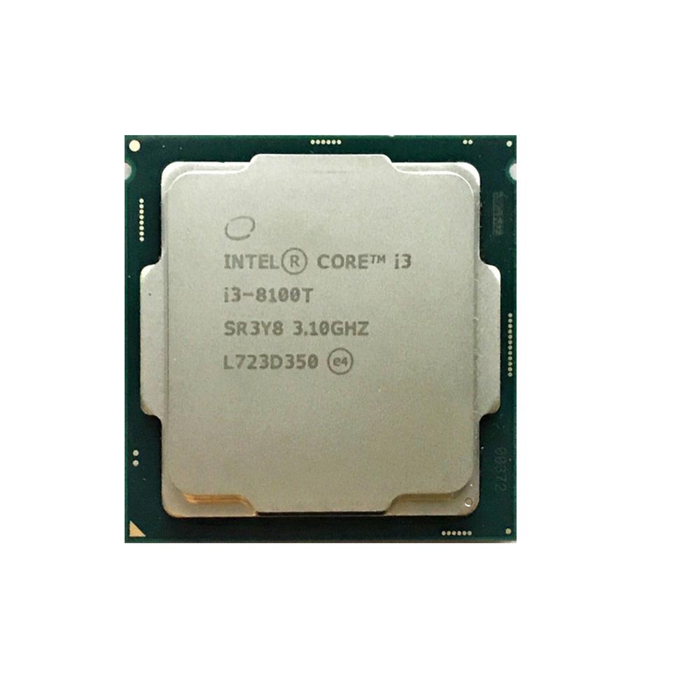 PROCESSADOR INTEL CORE I3-8100T 3.10Ghz 6MB LGA 1151 8ª GER SEM COOLER (OEM)