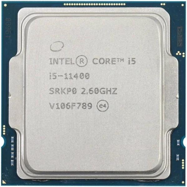 Processador Intel Core i5-11400 11ª Geração, Cache 12MB, 2.6 GHz (4.4GHz Turbo), LGA1200 - BX8070811400  - Districomp Distribuidora