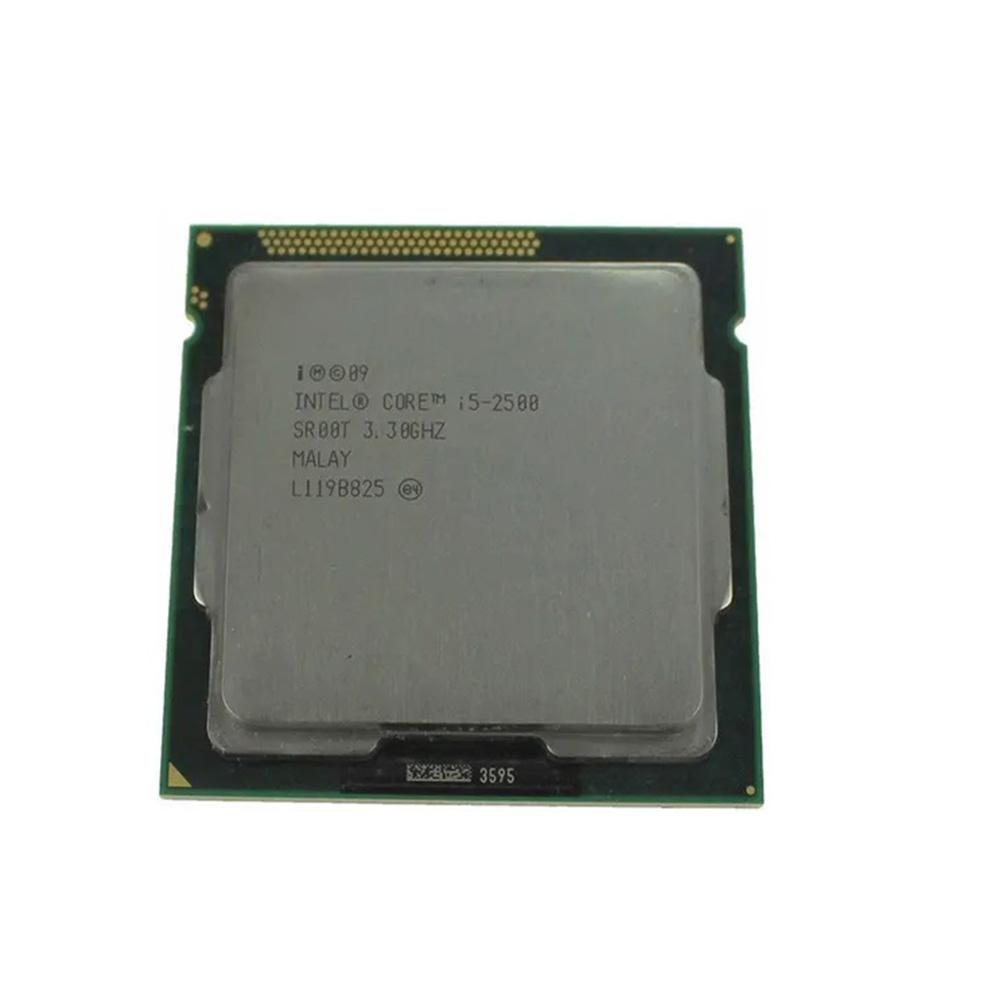 PROCESSADOR INTEL CORE I5 2500 3.30Ghz(Turbo 3.70Ghz) 6MB LGA 1155 2ª GER SEM COOLER (OEM)  - Districomp Distribuidora