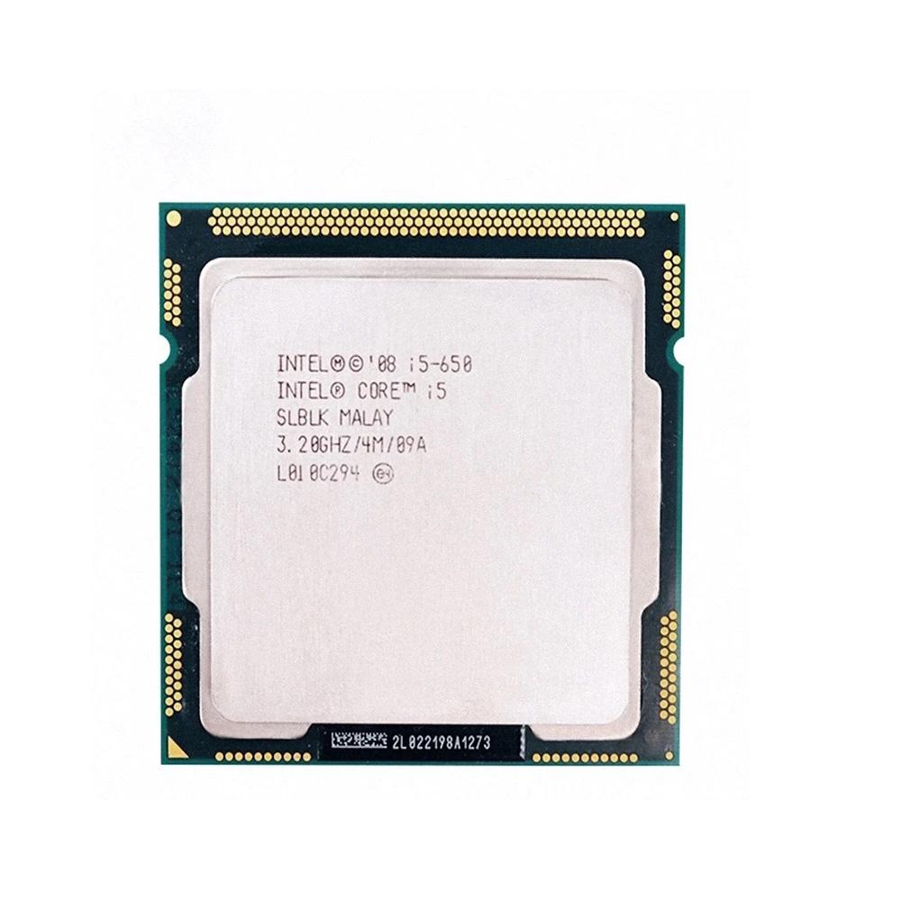 PROCESSADOR INTEL CORE I5 650 3.20Ghz(Turbo 3.46Ghz) 4MB LGA 1156 1ª GER SEM COOLER (OEM)