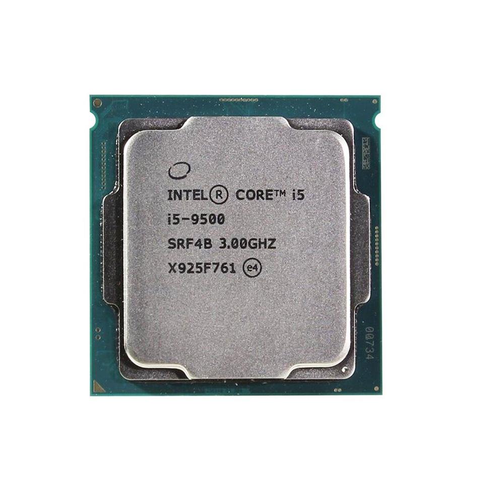 PROCESSADOR INTEL CORE I5-9500 3.00Ghz(Turbo 4.40Ghz) 9MB LGA 1151 9ª GER SEM COOLER OEM  - Districomp Distribuidora