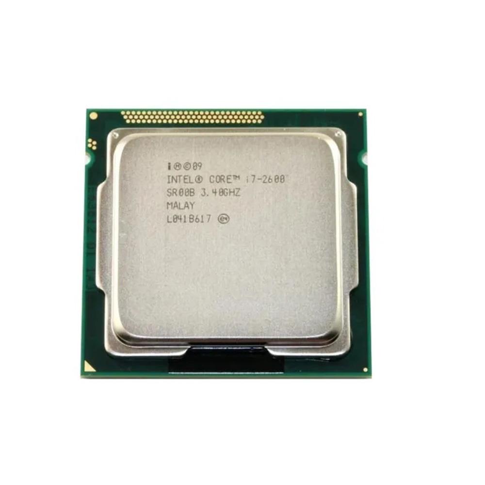 PROCESSADOR INTEL CORE I7-2600 3.40GHz (Turbo 3.80 GHz) 8MB LGA 1155 2ª GER SEM COOLER (OEM)  - Districomp Distribuidora
