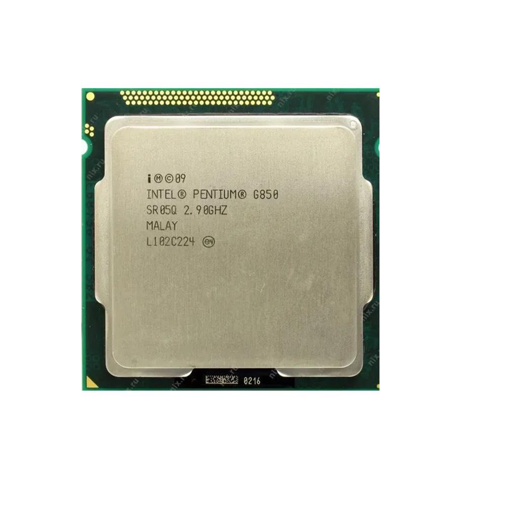 PROCESSADOR INTEL G850 PENTIUM DC 2.90 GHz 3M CACHE LGA 1155 2ª GER SEM COOLER (OEM)  - Districomp Distribuidora