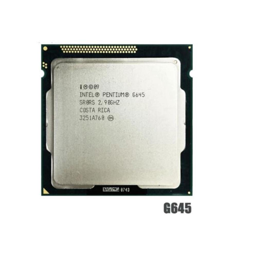 PROCESSADOR INTEL PENTIUM G645 2.90GHZ 3MB LGA 1155 2ª GER SEM COOLER (OEM)
