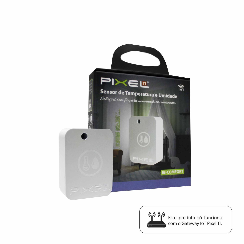 Sensor de Temperatura e Umidade Pixel TI Rev1 - CMA010Z-C004STEM  - Districomp Distribuidora