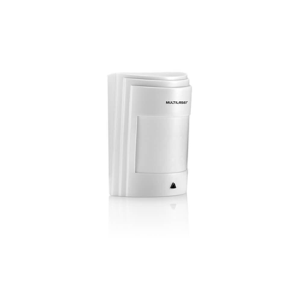 Sensor Ir Infra Passivo Multilaser Com Fio Pet 18Kg Interno Vermelho - SE410  - Districomp Distribuidora
