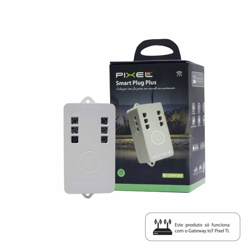 Smart Plug Plus C020PLUS Pixel Rev1 - CMA070Z