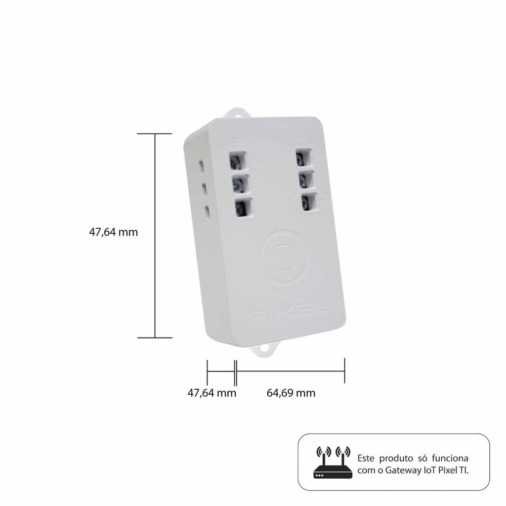Smart Plug Plus C020PLUS Pixel Rev1 - CMA070Z  - Districomp Distribuidora
