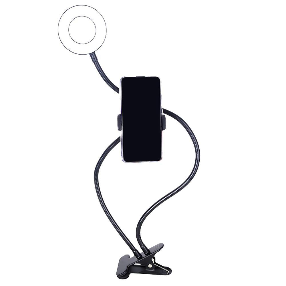 SUPORTE RING LIGHT FLEXIVEL 9,5W COM CLIPE FIXADOR - AC369  - Districomp Distribuidora