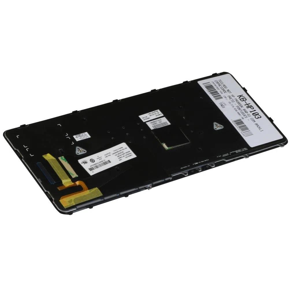TECLADO NOTEBOOK HP 840 G1 850 PTBR KB-HP103  - Districomp Distribuidora
