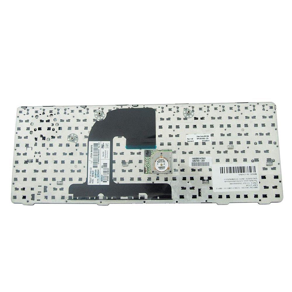 TECLADO PARA NOTEBOOK HP 6465B 6460b SEM TRACKPOINT - TC934  - Districomp Distribuidora