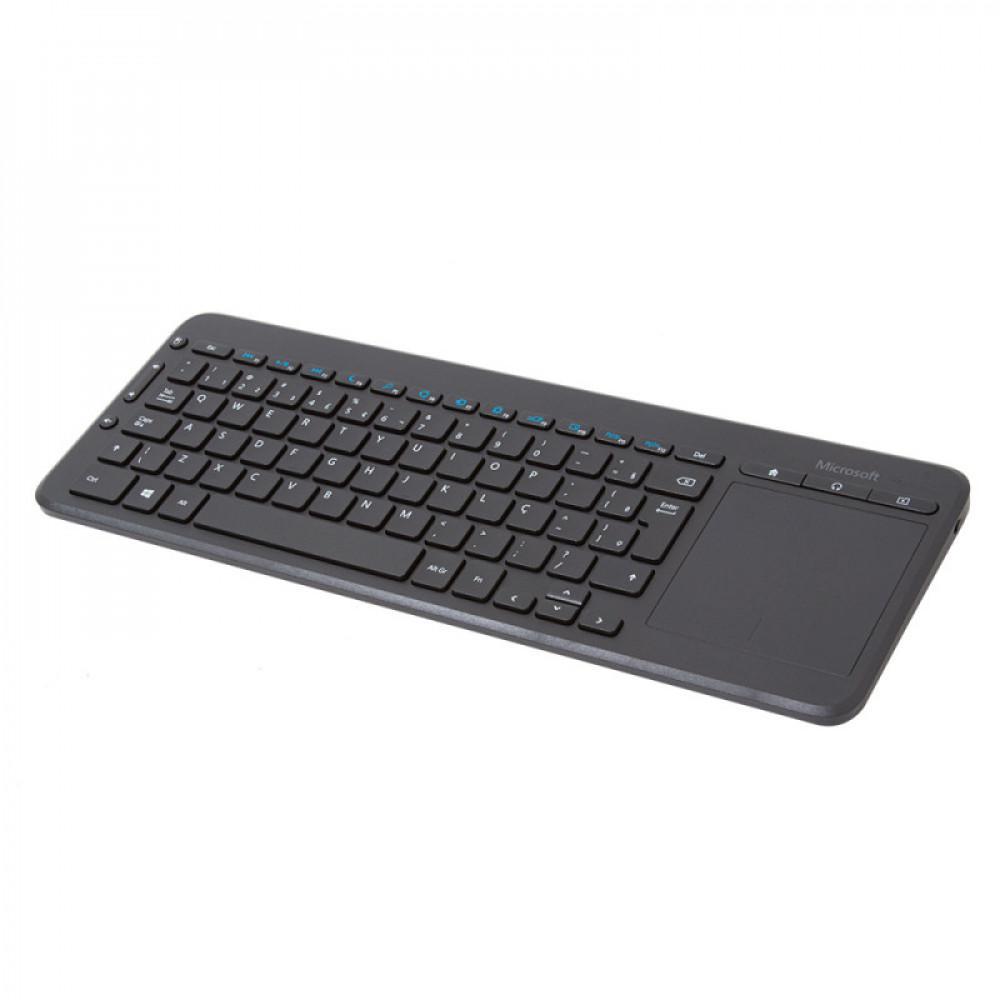TECLADO SEM FIO USB COM TOUCHPAD MICROSOFT - N9Z00005  - Districomp Distribuidora