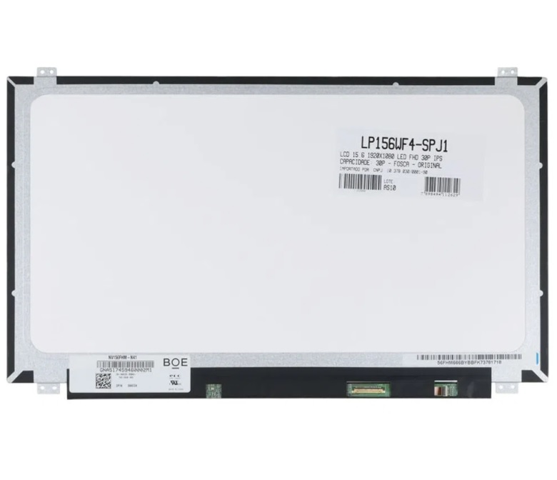 "TELA 15,6"" PARA NOTEBOOK LENOVO  W540 FULL HD 30P LP156WF4-SPJ1  - Districomp Distribuidora"