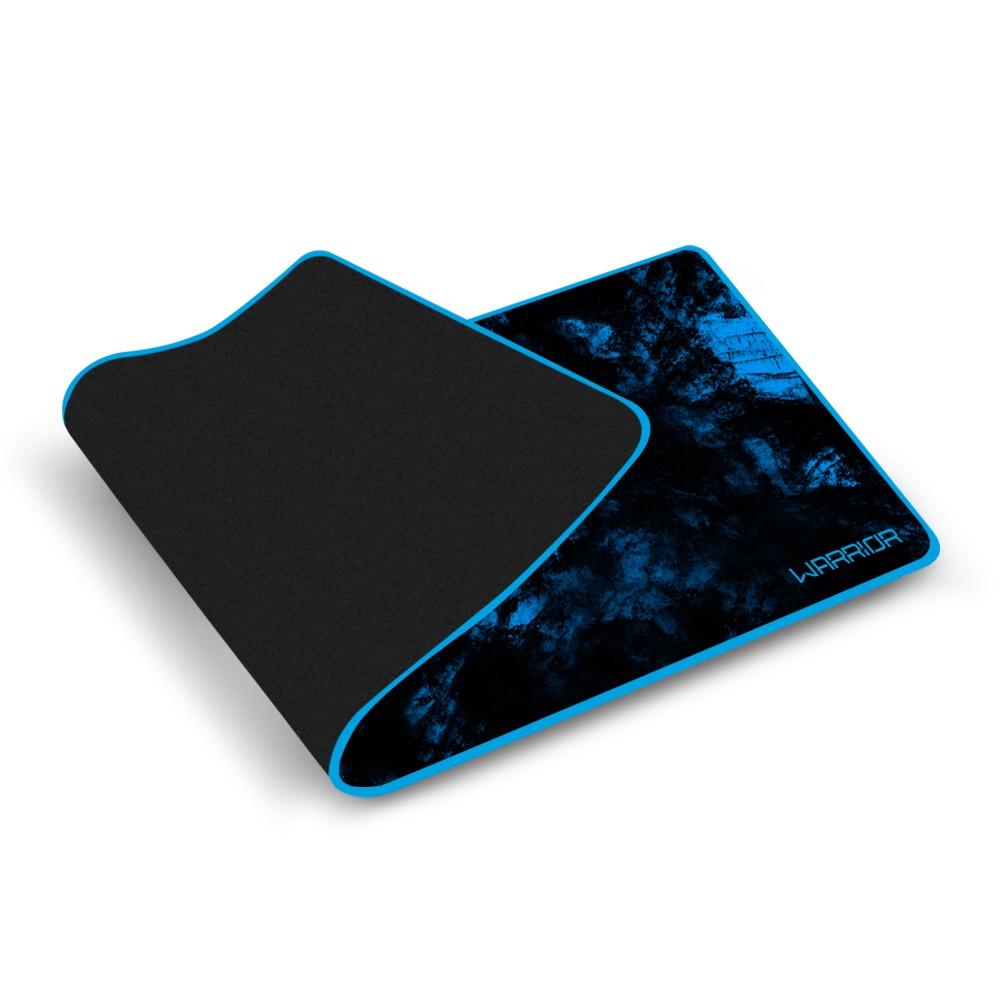 Warrior Gamer Mouse Pad Para Teclado e Mouse Azul - AC303  - Districomp Distribuidora