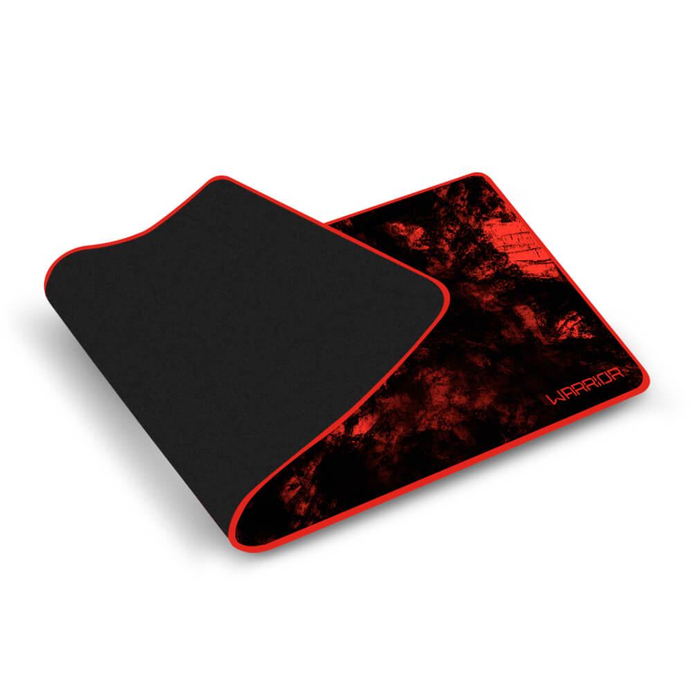 Warrior Gamer Mouse Pad Para Teclado e Mouse Vermelho - AC301