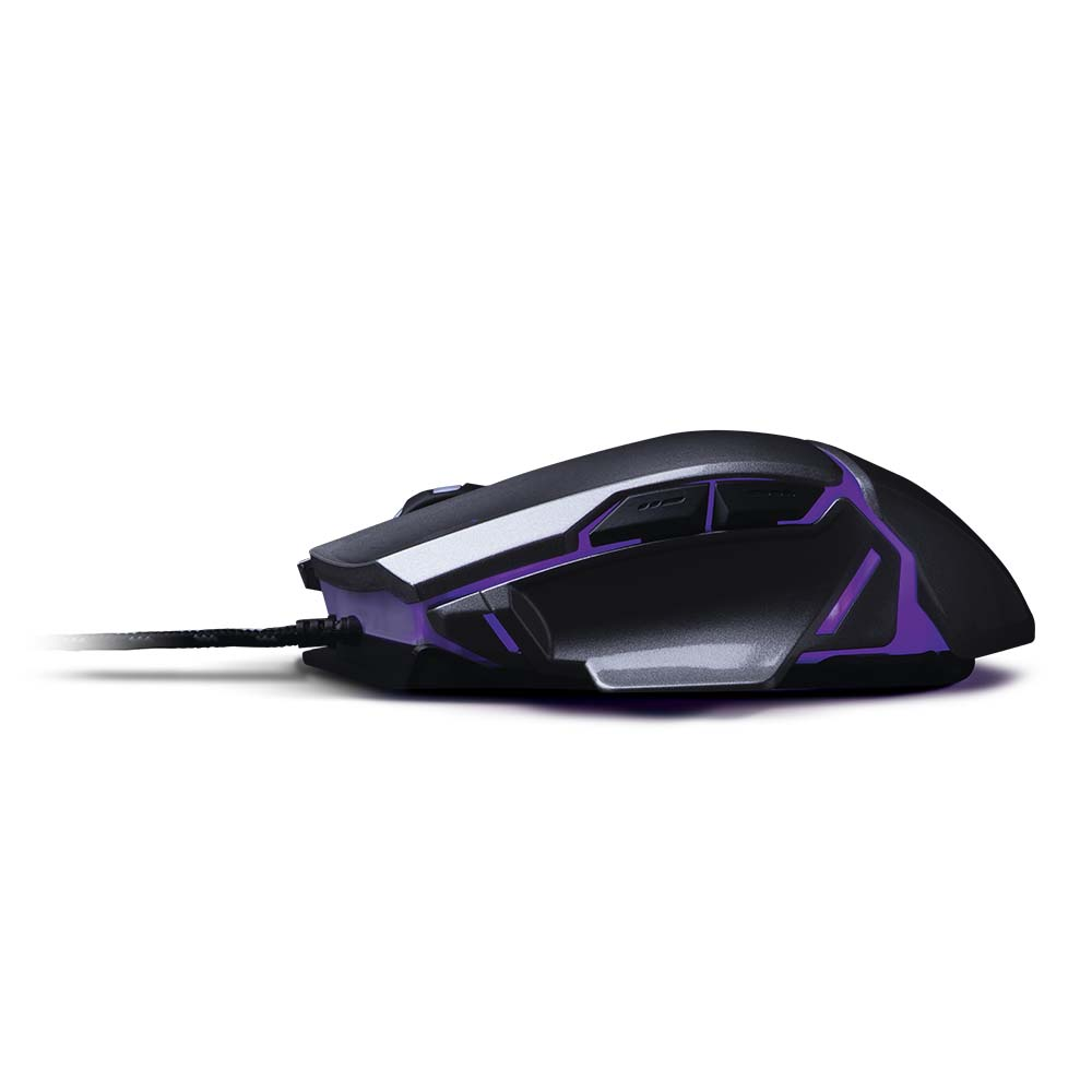 Warrior Ivor Mouse Gamer 3200dpi Grafite - MO262  - Districomp Distribuidora