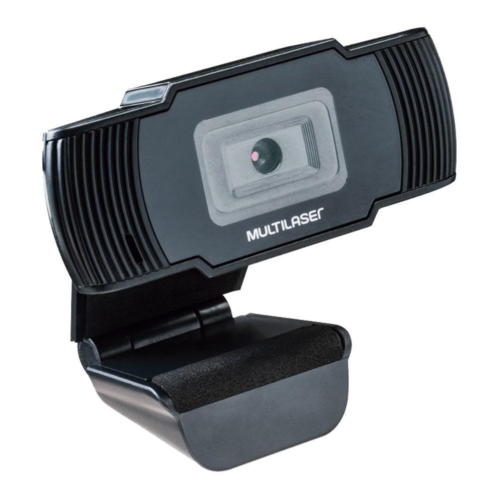 Webcam Office Hd 720p Usb Preto - AC339  - Districomp Distribuidora