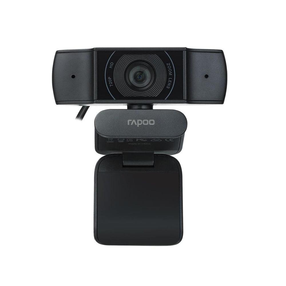 WEBCAM RAPOO C200 HD 720P (1280x720P) MICROFONE C/ ABSORÇÃO DE RUIDOS USB2.0 CABO 1.5M ROT360º-RA015  - Districomp Distribuidora